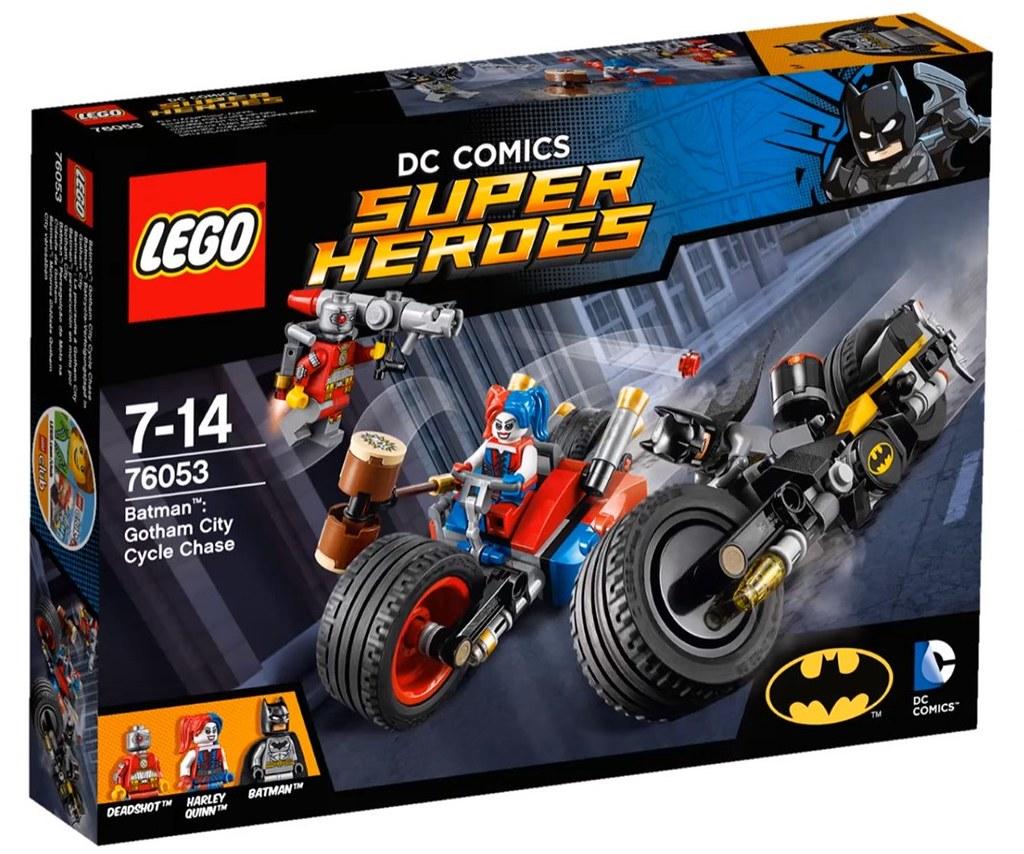 LEGO® 76053【蝙蝠俠:高譚市摩托車追逐戰】Batman™: Gotham City Cycle Chase