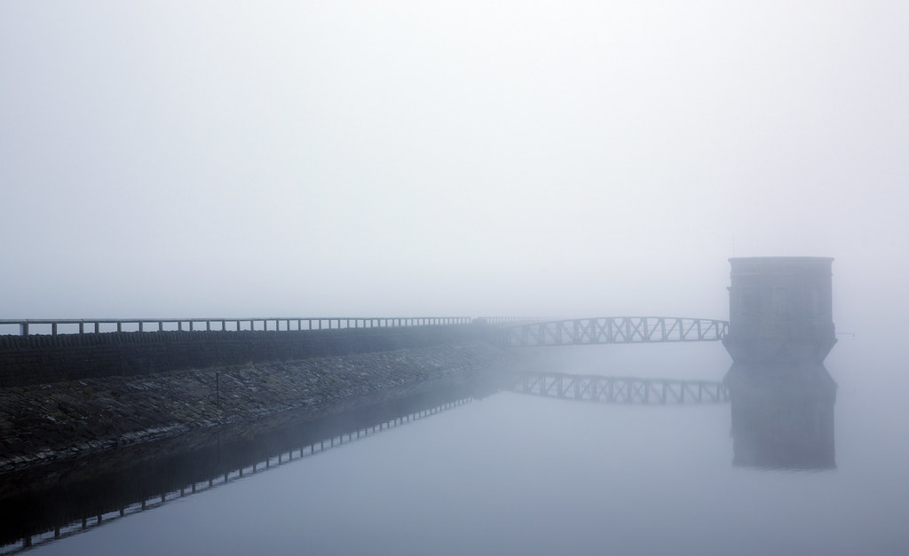 Talybont Reservoir Mist