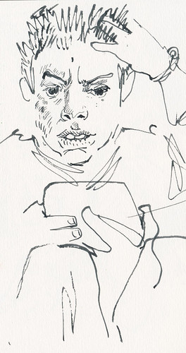 Sketchbook #94: Reading Time