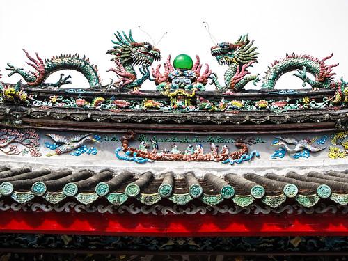Hoi An: le Temple Triêu Châu