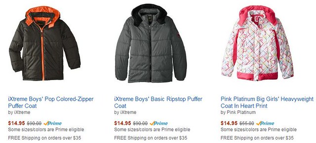 90% off Jackets and Coats