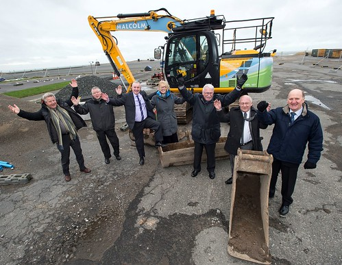'The Quay Zone' unveiled as name for new community leisure centre as construction work begins