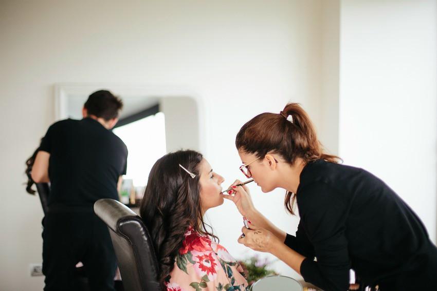maquillaje de novia en madrid