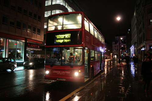 London United TLA28 on Route N97, Piccadilly