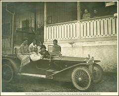 1922 S 2533 Fiat 519 Croatia Sv. Ivan Zelina Kuća Pucek Teta Zora Vera Pucek Vukica Nada Novaković (kćer Marije Tkalčić ud. Pucek) Ivo Novaković Vera Pucek