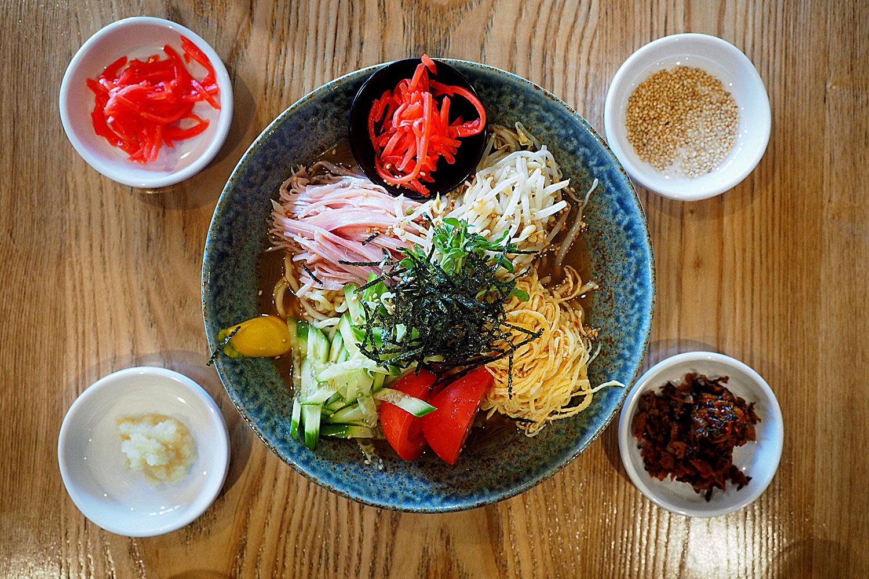 Hiyashi Chuka, $13.50: Manpuku, Chatswood. Sydney Food Blog
