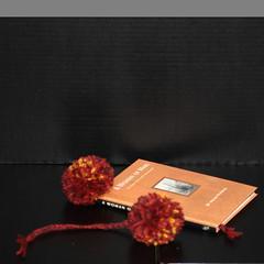 Pompom bookmarks
