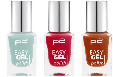 p2 Neuheiten 2016, p2 Sortimentswechsel, p2 easy gel polish