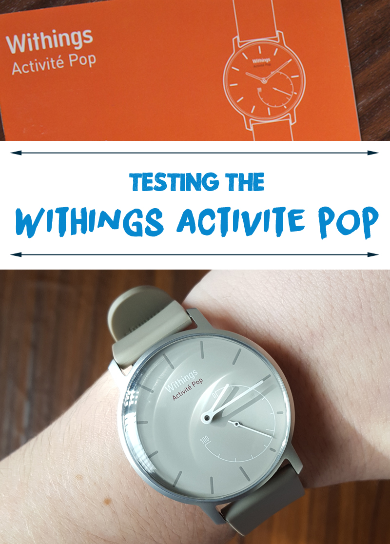 Withings Activité Pop Fitness Tracker Review // lifeofkitty.co.uk