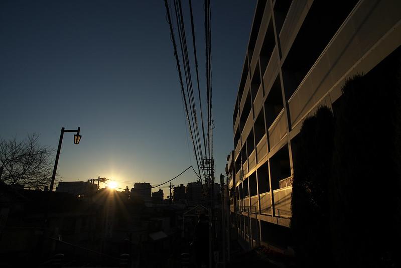 東京路地裏散歩 夕やけだんだん 2016年2月10日
