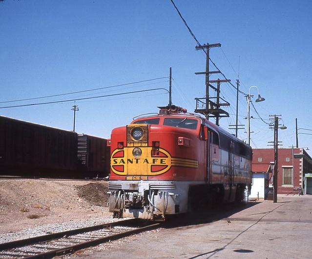 Santa Fe PA1 #74 Barstow, CA  June, 1968