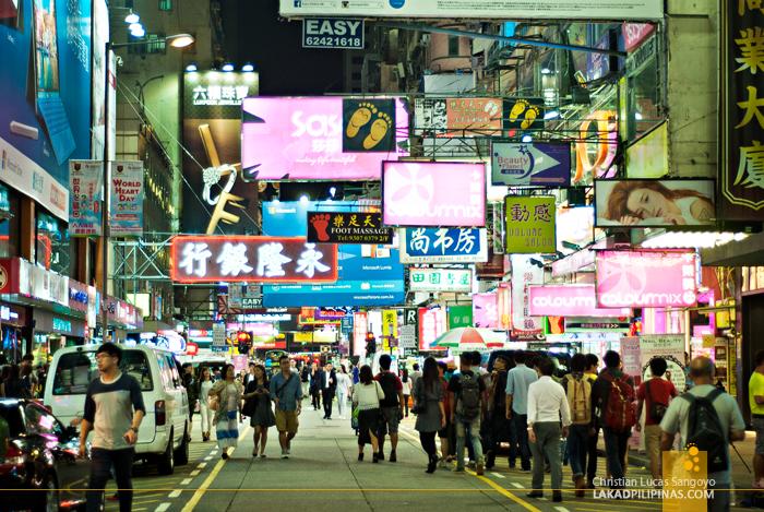 Hong Kong Walk Mong Kok