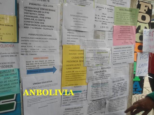CENTENARES DE DOCENTES DESEMPLEADOS ACUDEN A LOS PROCESOS DE COMPULSA DE CARGOS ACÉFALOS .