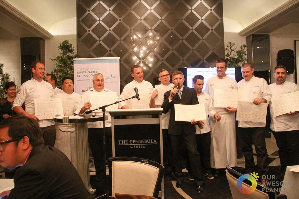 Philippines Sustainable Seafood Week: Executive Chefs of Top Hotels and Restaurants Support for Ocean Conservation