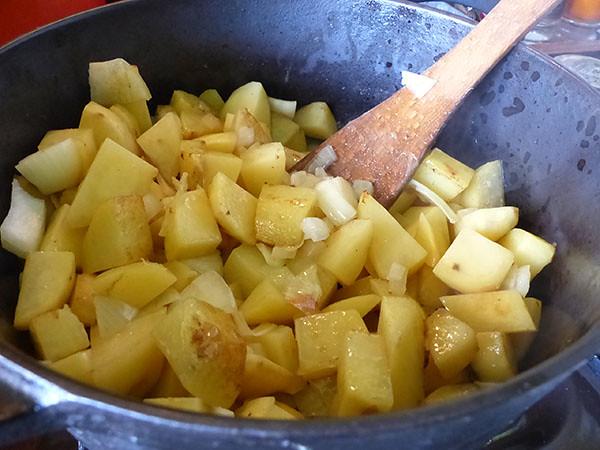 les pommesd e terre de la soupe