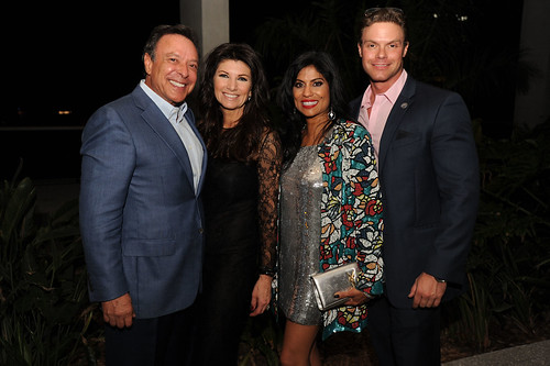 Mike Fernandez, Constance Fernandez, Lucy Morillo, & David King at PAMM Art of the Party
