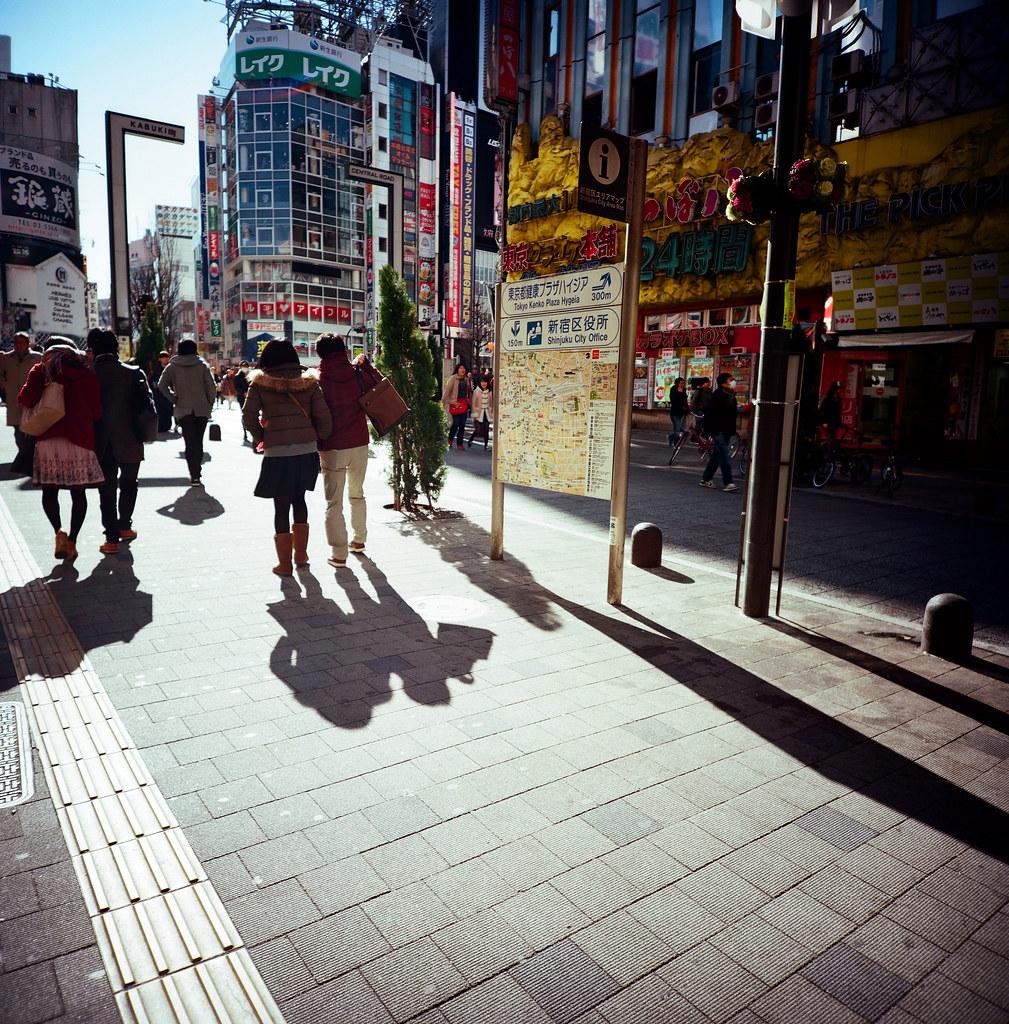 新宿 Tokyo / Kodak Pro Ektar / Lomo LC-A 120 2016/02/07 最後一天要離開日本,還是進去東京一趟,來個快速的一日遊!  Lomo LC-A 120 Kodak Pro Ektar 100 120mm 8283-0005 Photo by Toomore