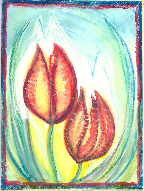 For my Mum ~ Mothers day card ~ art