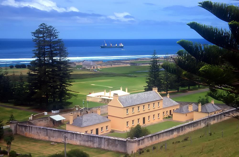 Norfolk Island jail. Image credit Steve Daggar