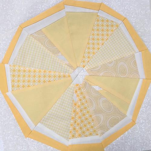 Citrus Slice Paper Piece Pattern - Lemon