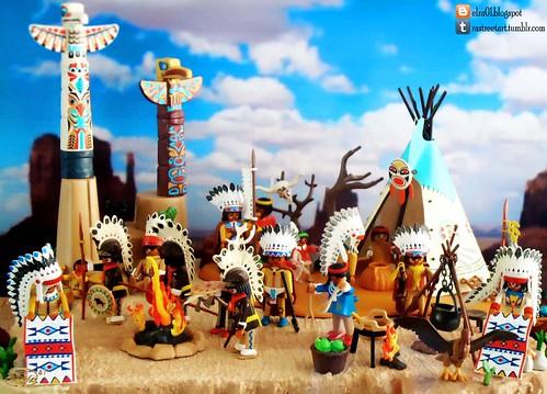Playmobil Apaches