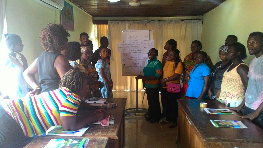 2016-4-6 Ghana: DSWU Capactiy building workshop