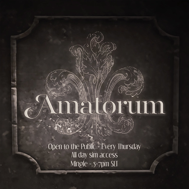Amatorum - Open to the Public