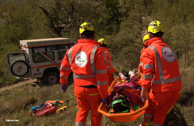 Civitella Roveto: le 36 ore del soccorso della Croce Verde