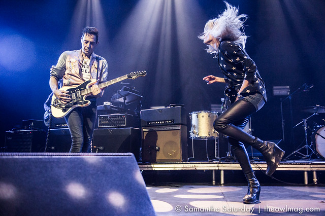 The Kills @ Mayan, Los Angeles - 18 April 2016 03