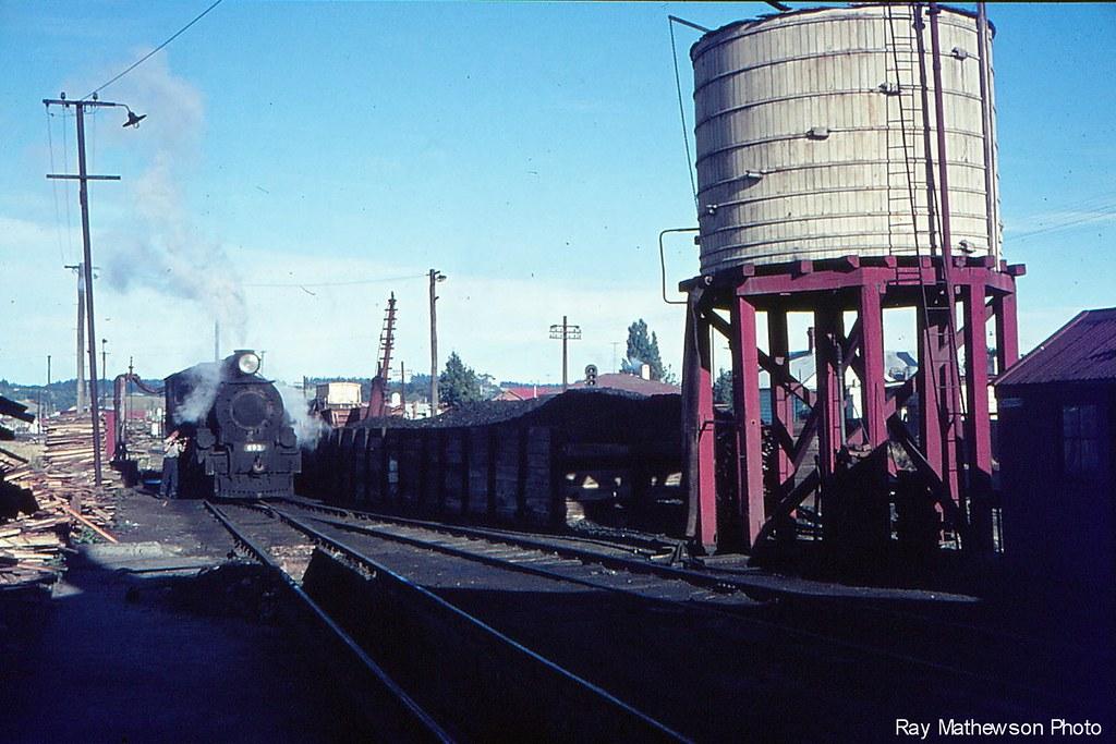 Balclutha loco depot late 1960's