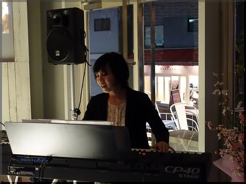 Photo:2016-03-24_T@ka.の食べ飲み歩きメモ(ブログ版)_ヒューガルデン花見カフェOPEN【原宿】cafe STUDIO_10 By:logtaka