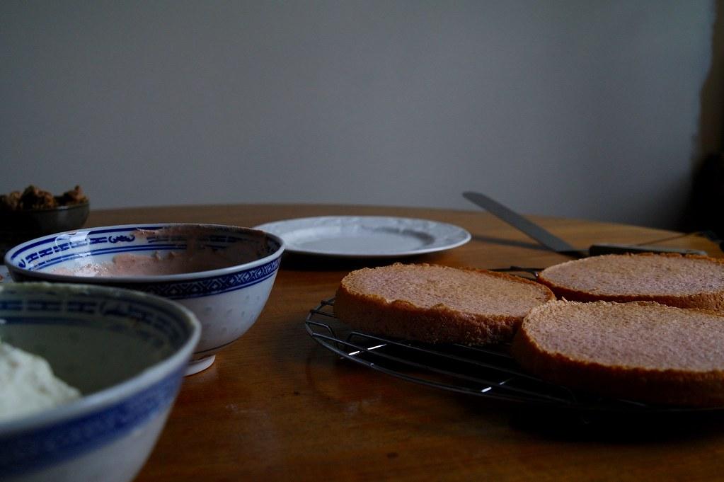 sumac cake layers