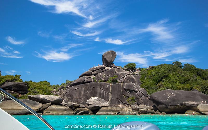 หินเรือใบ เกาะแปด สิมิลัน