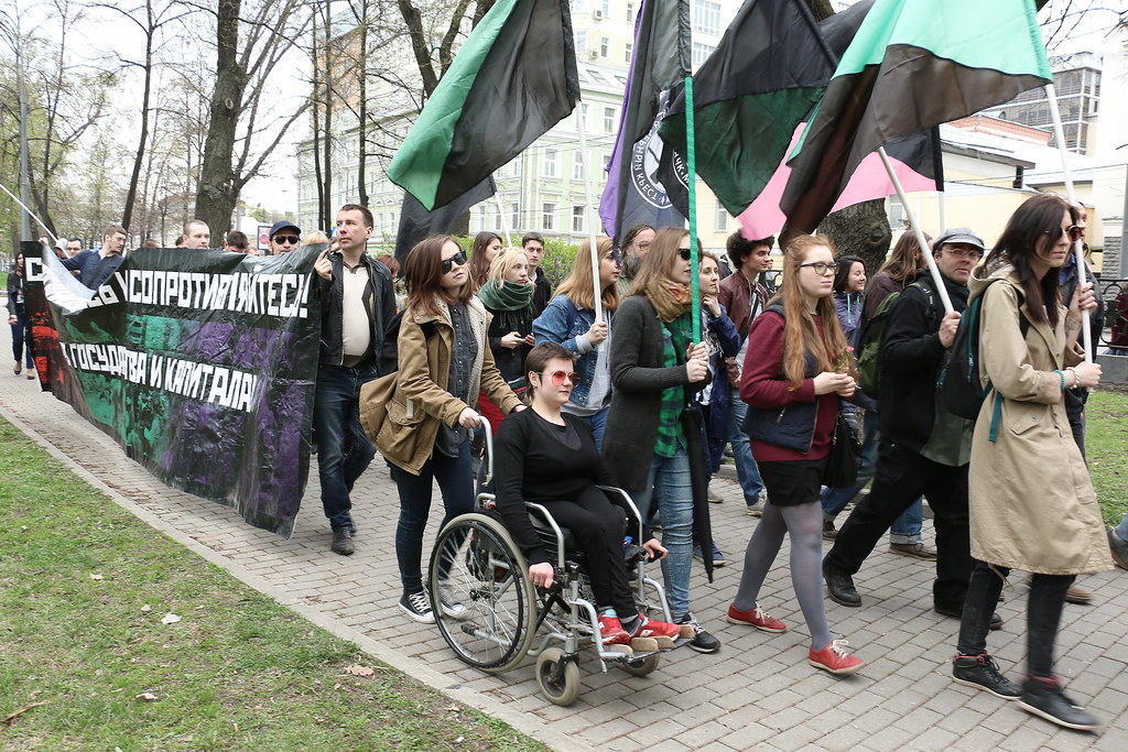 1. Mai. Moskau, 2016