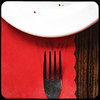 fork plate placemat-001