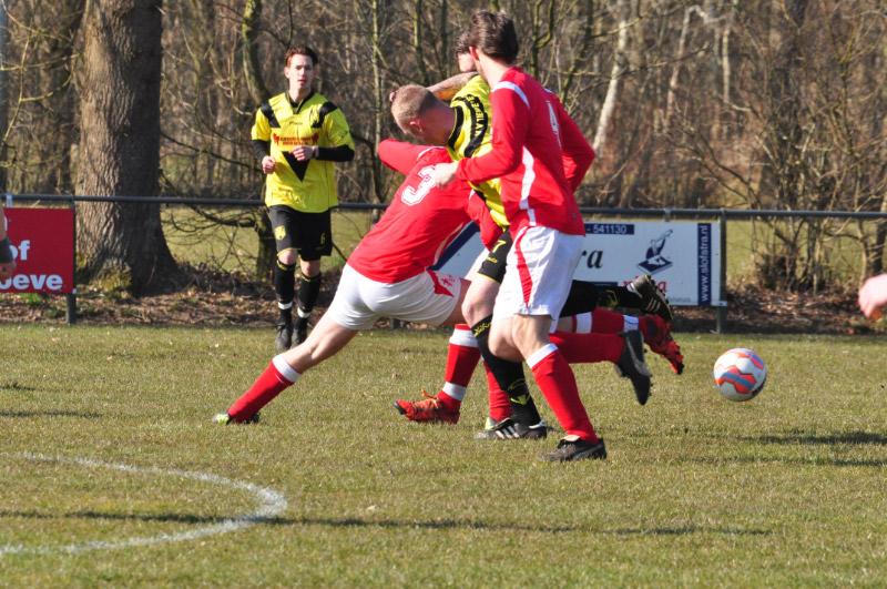 SV Nieuw Balinge 1 - Tiendeveen 12-03-2016