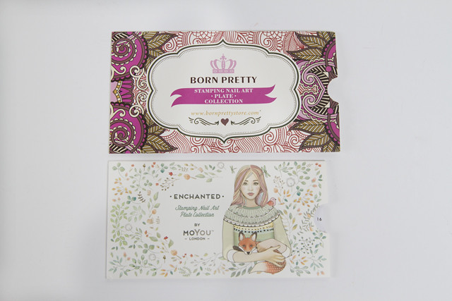 Vergleich: Born Pretty Store Palette - Moyou Palette