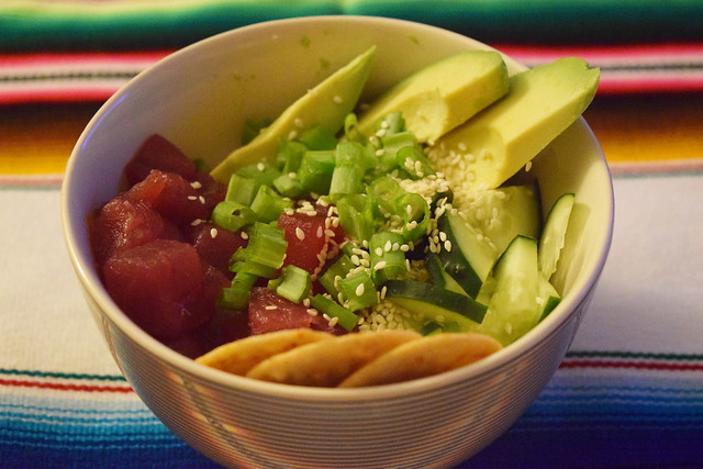 Recipe: Tuna Poke Bowl
