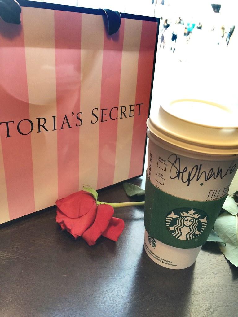 Amerika Shopping Tag Starbucks & Victoria's Secret