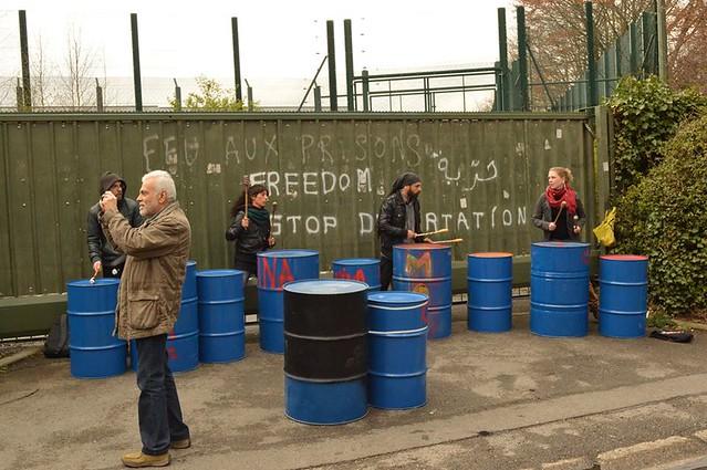 Manifestation contre le centre fermé de Vottem 2016