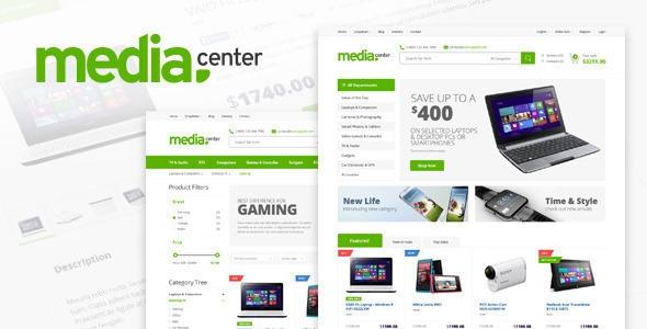 MediaCenter v2.7.0 – Electronics Store WooCommerce Theme