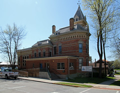 Steuben County Sheriff's Residence and Jail — Angola, Indiana