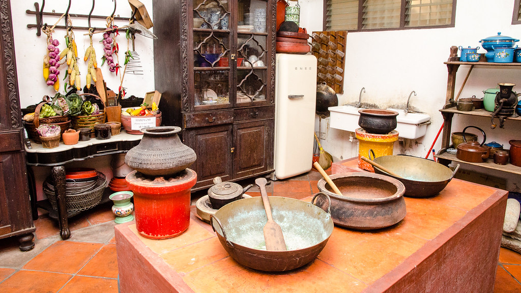 Kitchen in Pinang Peranakan Mansion