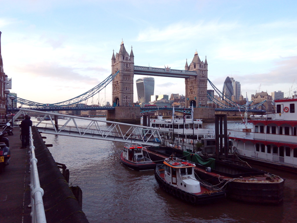 Tower Bridge and Walkie-Talkie
