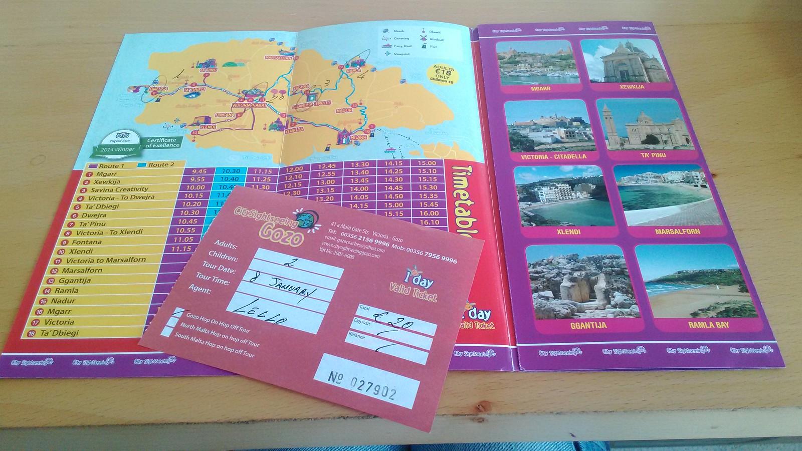 Itinerario di Gozo