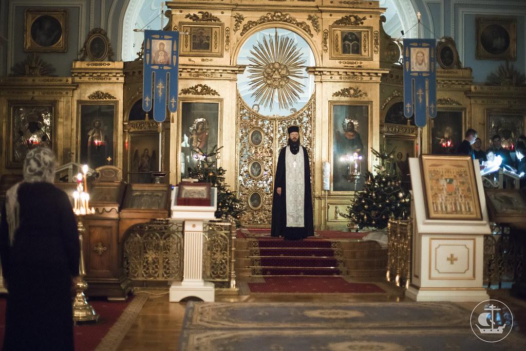 5 января 2016, Вечернее богослужение / 5 January 2016, Vespers