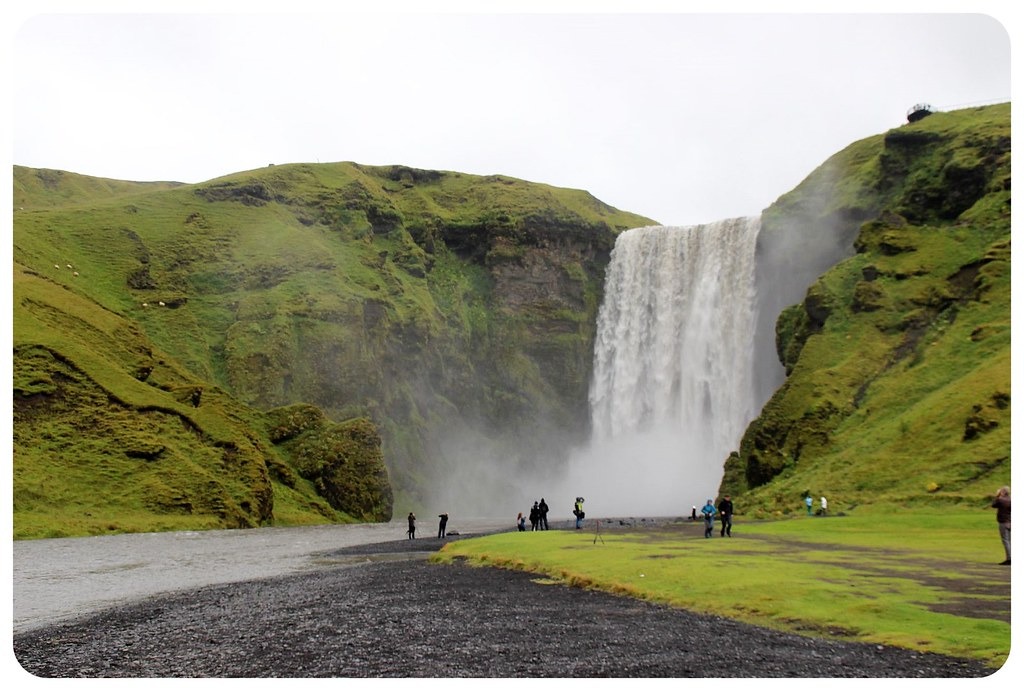 Skogafoss waterfall
