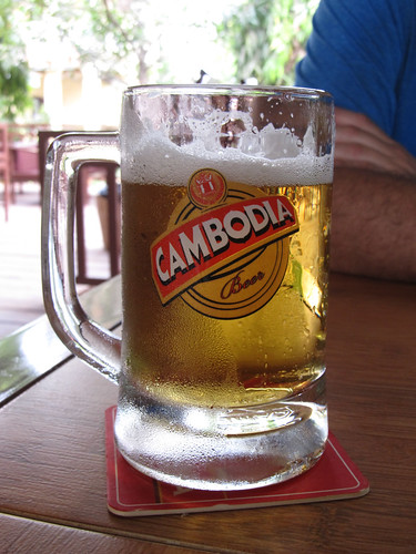 Siem Reap: bière pression