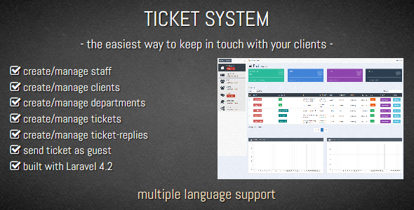CodeCanyon TICKET SYSTEM - Customer Support Software