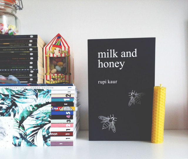 uk book blog vivatramp book haul milk and honey rupi kaur